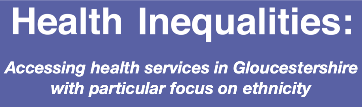 Health Inequalities Report