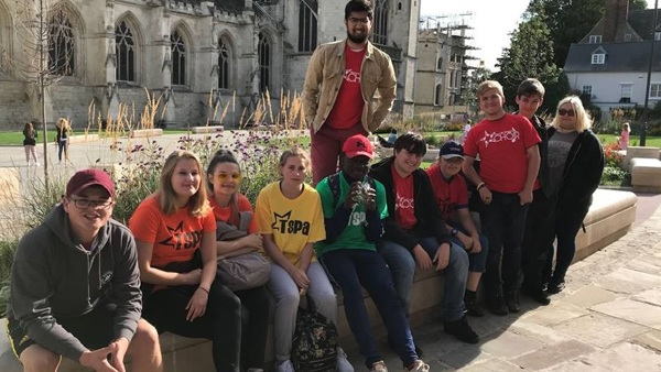 NCS team raise over £350 for Treasure Seekers